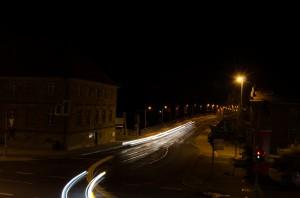 Schweinfurt bei Nacht